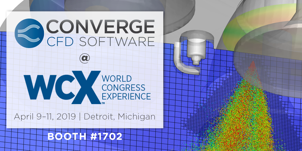 WCX World Congress - CONVERGE CFD Software
