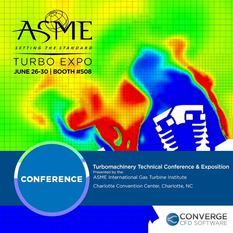 ASME Turbo Expo - CONVERGE CFD Software